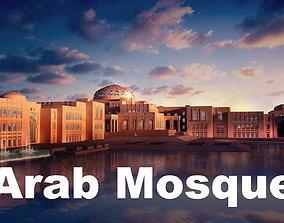 3D Arab mosque