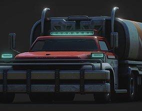 Heavy Duty Tank Fuel Truck 3D model