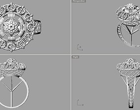 3D print model 3D asset Rings