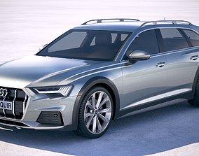 3D Audi A6 Avant Allroad 2020