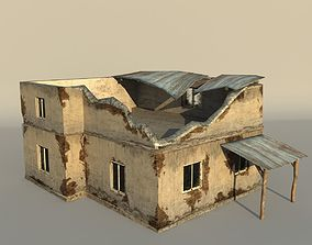 Middle East destroyed house for game num01 3D