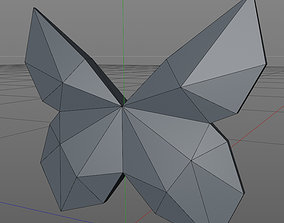 bug 3D printable model Butterfly