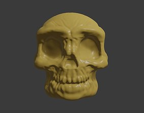 caveira Skull Head for 3d Print - Caveira