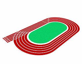 Running Track 3D