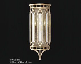 Fine Art Lamps Westminster 884850 3D model