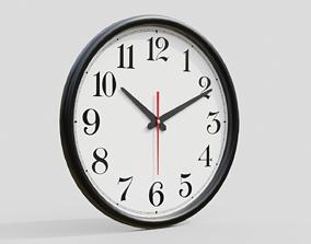 3D model clock Wall