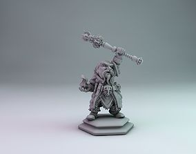 3D printable model Dwarf wizard