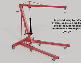 workshop-enging hoist 3D model