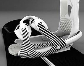 3D model Board-bindings