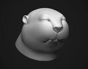 3D printable model toys Baby Beaver