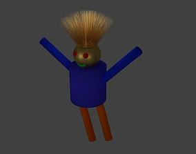 Crazy Stick Figure Person 3D