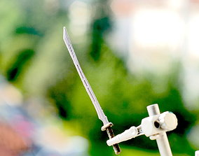 3D print model DEATHSTROKE SWORD deathstrokesword