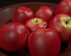 Bowl of Apples 3D model