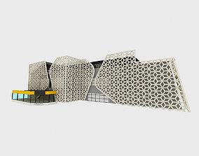 3D model The Mall maya