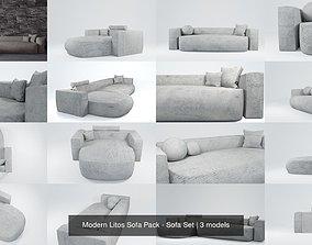 3D model Modern Litos Sofa Pack - Sofa Set