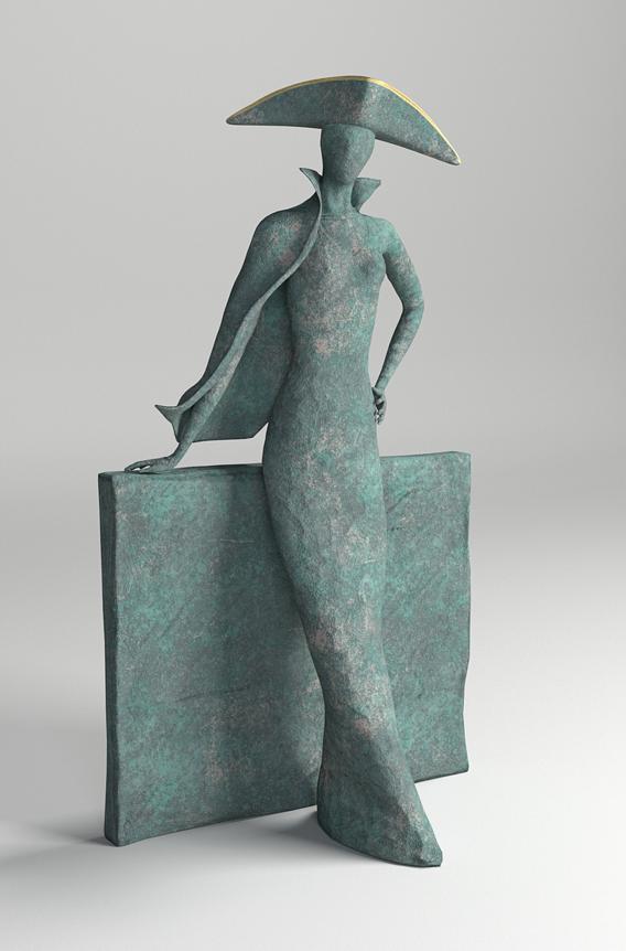 Bronze Statuette - PBR - 47 cm (18.5'')