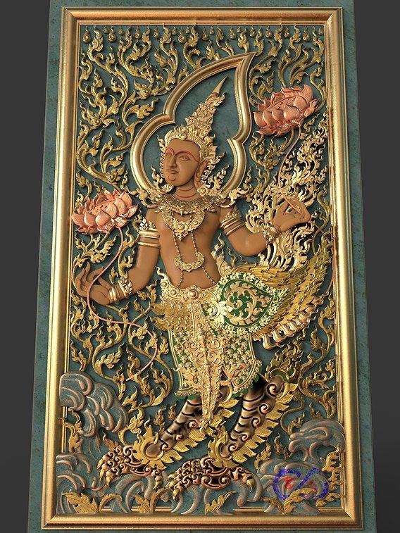 Kinnaree Thai Animal Legend