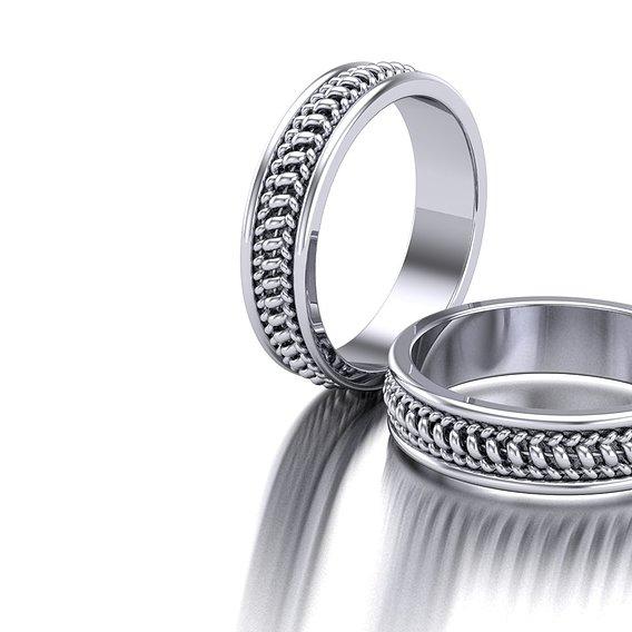 Spiral Pattern Ring