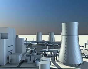 3D model Thermal Power Plant