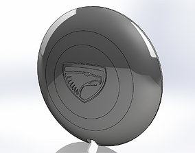 Eagle Talon hubcap 3D print model