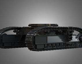 Tracks - Hydraulic Mining Shovel - 6015B 3D model