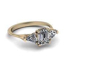Jewelry Ring 3D print model apparel