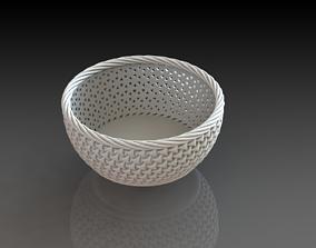 design Fruit Basket 3D Printed