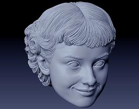 Audrey Hepburn 3D print model