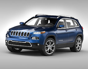 3D Jeep Cherokee 2014