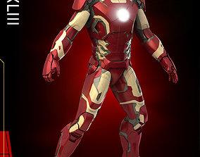 3D Iron man Mark 42
