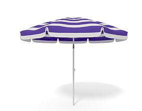 Beach Parasol - Umbrella 3D model