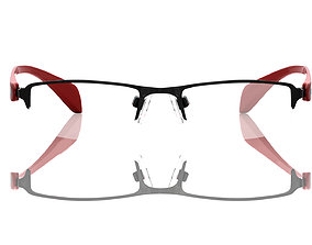 wear eyeglasses Eyeglasses for Men and Women 3D print model
