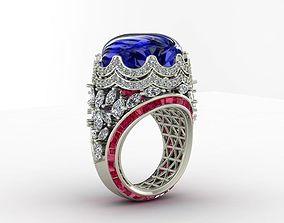 3D print model cocktail ring