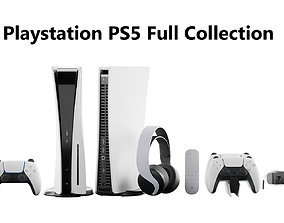 3D Playstation PS5 Full Collection