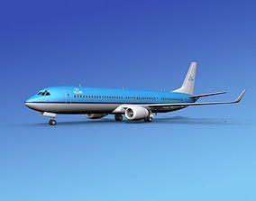 Boeing 737-900ER KLM 3D model
