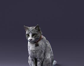 cat statue 0413 3d print ready