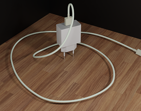 USB Type C charger 3D