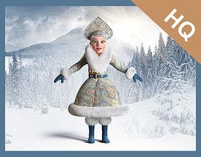 Snow Maiden 3D model