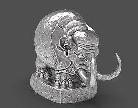 3D printable model Baby Woolly Mammoth desktop miniature