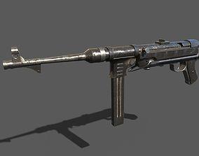 MP40 Submachine gun 3D asset