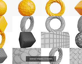abstract shapes 3D