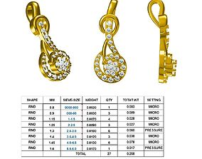 3D print model DIAMOND RING diamond weight