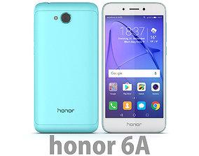3D Huawei Honor 6A Blue