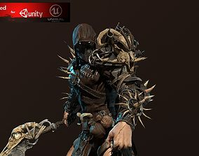 3D asset Punisher