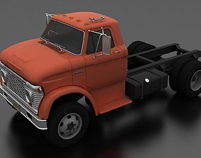 3D asset N-Series N-600 Truck Chassis 1963