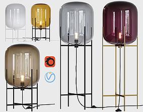 Oda floor lamps 3D model