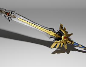 Sword of Light 3D model