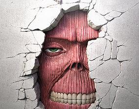 Attack On Titan - Wall Titan 3D printable model