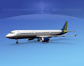 3D model Airbus A321 Corporate 1