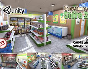 Convenience Store 2 3D asset